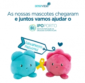 Mascotes solidárias revertem a favor do IPO Porto