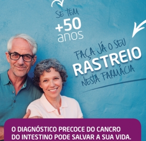 Cancro do intestino: Farmácias Holon promovem rastreio